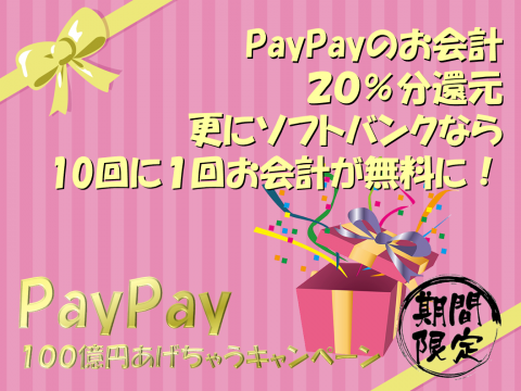 PayPay100おくえん Pink